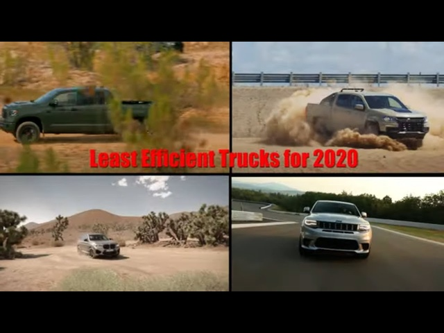 Least Efficient Trucks | Who's the Worst? | Steve Hammes