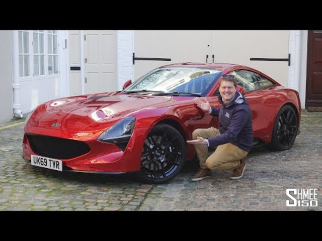New TVR Griffith in London! Chasing My Future Shmeemobile