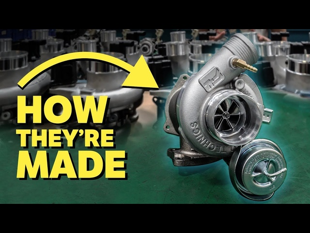 How Hybrid Turbos Are Made & What They Do!