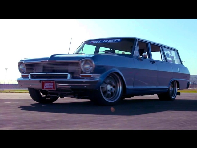 Super Chevy Muscle Car Challenge 2019 | THIRD PLACE | 1964 Nova Wagon by Total Cost Involved
