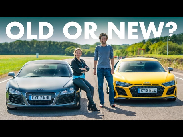 Audi R8 V10 Performance Vs ORIGINAL V8 Manual | Carfection 4K