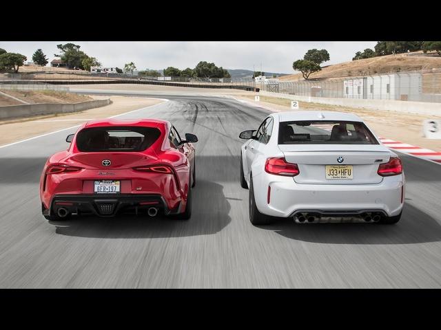 BMW M2 Competition vs. <em>Toyota</em> GR Supra Launch Edition—2019 BDC Hot Lap Matchup