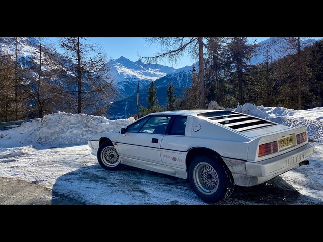 1000mile Euro-trip in the Lotus Esprit turbo to find my old Spectre Defender..