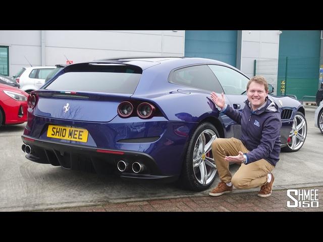 My 170mph <em>Ferrari</em> GTC4Lusso Autobahn Road Trip!