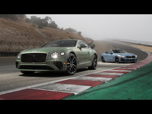 Bentley Continental GT V8 vs. BMW 850i xDrive—2019 BDC Hot Lap Matchup