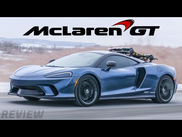 The NEW McLaren GT is a$300,000 Grand Touring Supercar