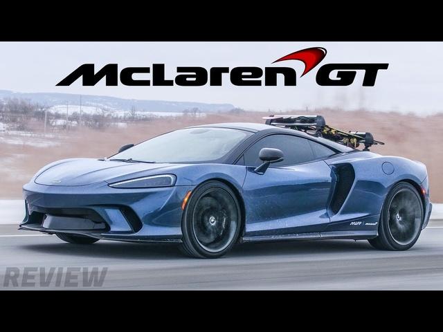 The NEW <em>McLaren</em> GT is a$300,000 Grand Touring Supercar