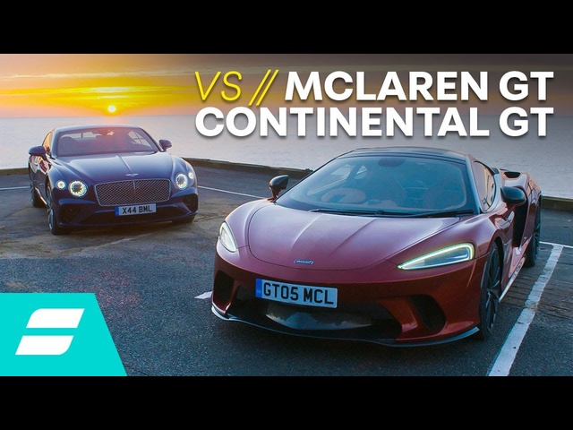 <em>Bentley</em> Continental GT vs McLaren GT: Which Is THE Grand Tourer? 4K