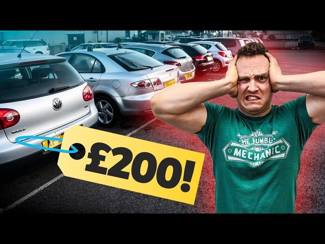 £200 Cheap Car Challenge