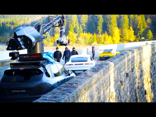 "Inside ""The Heist"": The Making of Porsche's Big Game Commercial"