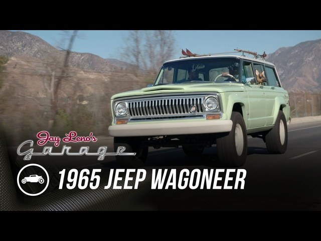 1965 Jeep Wagoneer Roadtrip Concept - Jay Leno's Garage