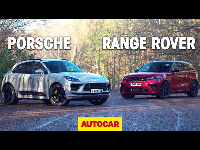 2020 Porsche Macan Turbo vs Range Rover Velar SVAutobiography review – the best fast SUV? | Autocar