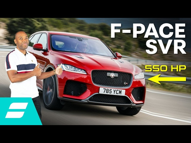 The 550hp Jaguar F-Pace SVR Is Hilarious Fun!