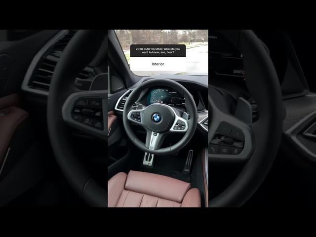 2020 <em>BMW</em> X5 M50i Instagram Q&A