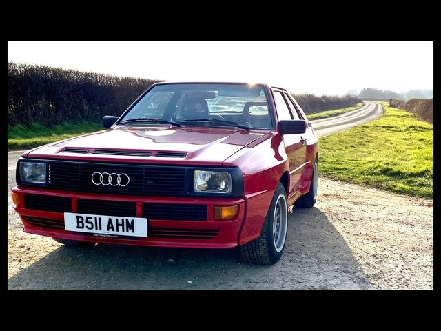1984 Audi Sport Quattro. Best Group B homologation special ever?