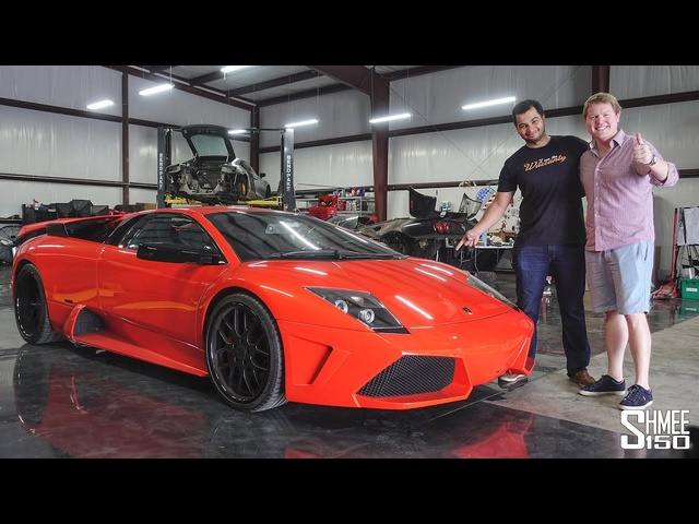 Meet the Most Famous Lamborghini Murcielago in the World! Ft. Tavarish