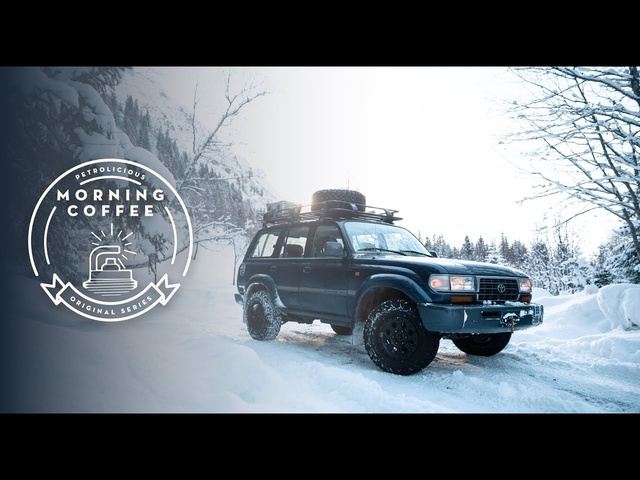 1997 Toyota Land Cruiser FZJ80: Morning Coffee