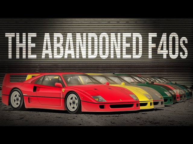 How Many <em>Ferrari</em> F40s Are 'Abandoned' In Brunei?