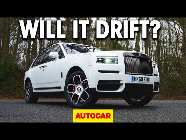 WILL IT DRIFT? | The Rolls-Royce Cullinan | Autocar