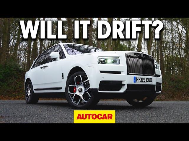 WILL IT DRIFT? | The Rolls-Royce Cullinan | Autocar