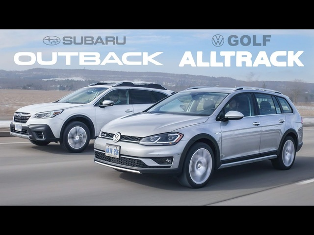 2020 Subaru Outback vs VW Golf Alltrack - Off Road Wagon Battle
