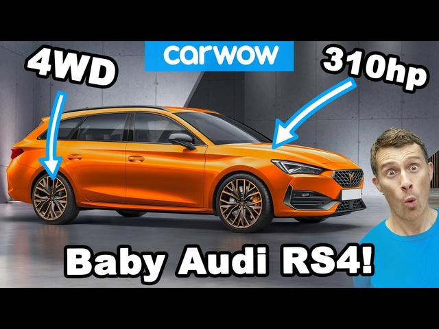 This is a baby <em>Audi</em> RS4... On a budget!