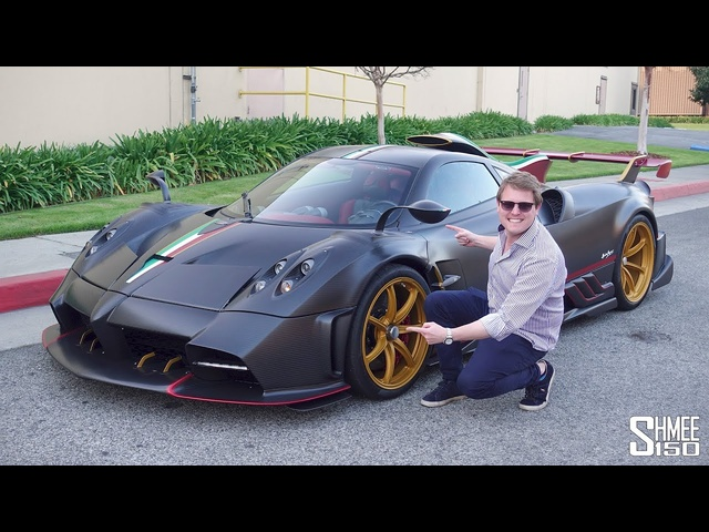 The Pagani Imola is a Brutal $5m Italian Monster! EXCLUSIVE RIDE