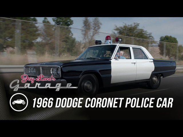 1966 <em>Dodge</em> Coronet Police Car - Jay Leno's Garage