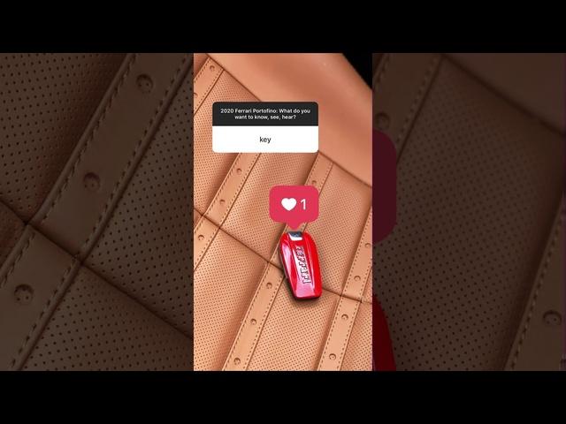 2020 Ferrari Portofino Instagram Q&A