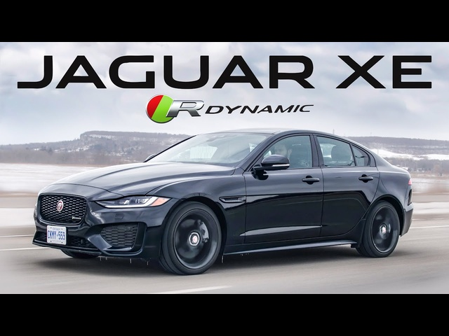 The 2020 Jaguar XE P300 R Dynamic SE has too many Letters and Numbers in its Name