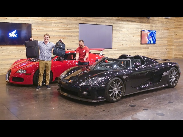 Hypercar Airport Run in Houston's Koenigsegg CCX!