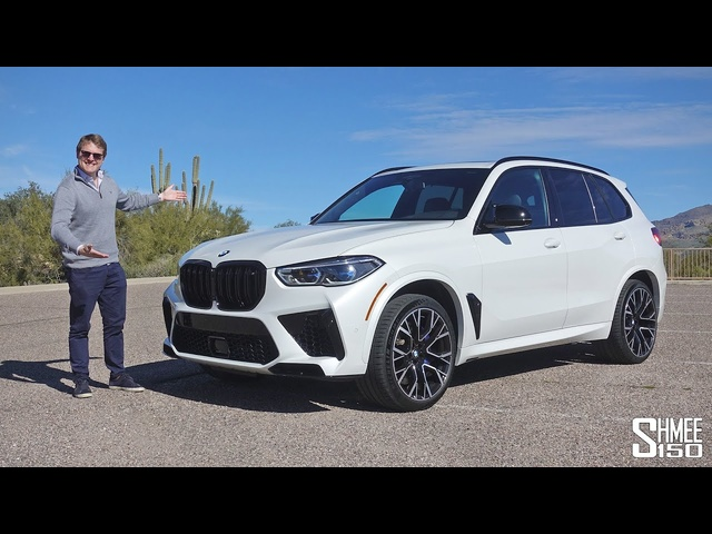 The BMW X5M Competition is the SUV King!