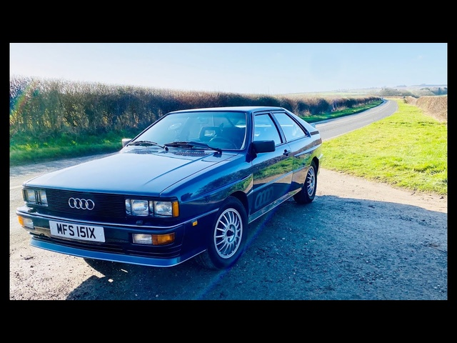 Audi Ur quattro drive review. 40 years after launch, is the original the best quattro of all?