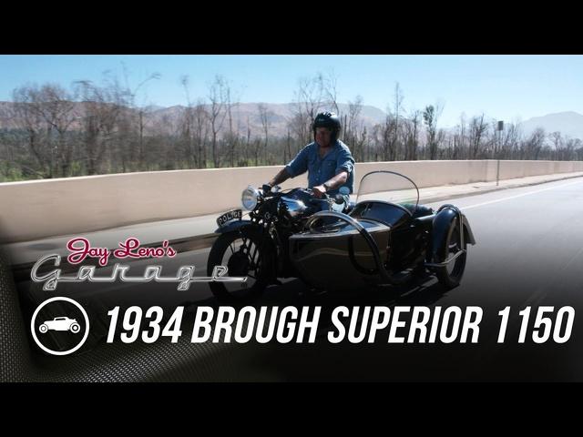 1934 Brough Superior 1150 -Jay Leno's Garage