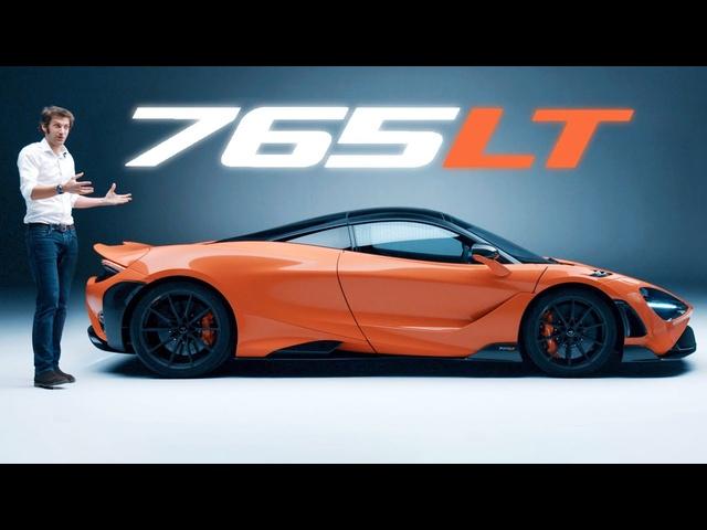 NEW <em>McLaren</em> 765LT: In-Depth First Look, AMAZING ENGINE SOUND! | Carfection 4K