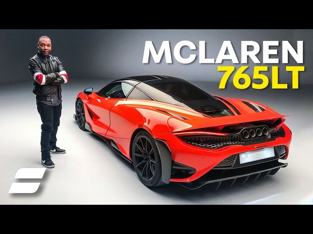 NEW McLaren 765LT: Interior & Exterior Preview plus Exhaust Sound