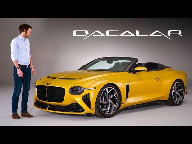 NEW <em>Bentley</em> Bacalar: In-Depth First Look At This £1.5M, ULTRA RARE Speedster | Carfection 4K