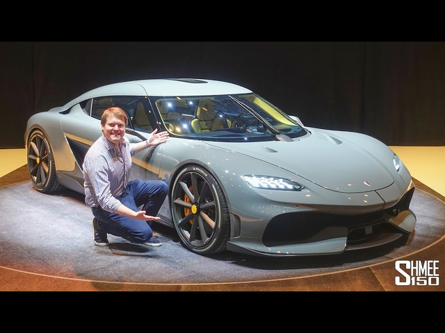 New KOENIGSEGG GEMERA with Christian von Koenigsegg! | FIRST LOOK