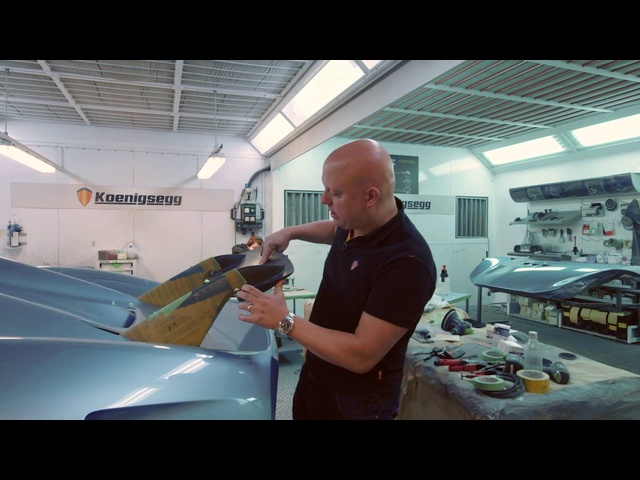 Koenigsegg Regera How The Wing Works -- /INSIDE KOENIGSEGG
