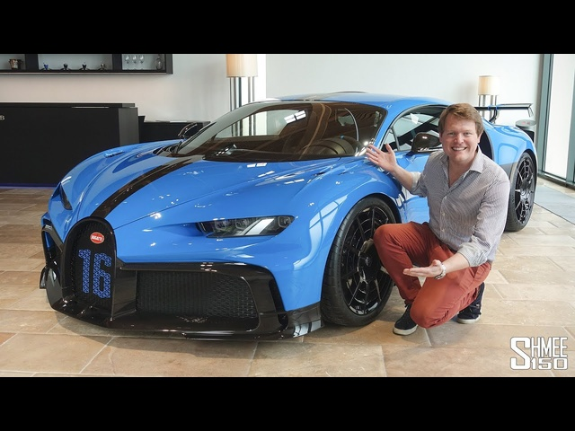 Check Out the <em>BUGATTI</em> CHIRON PUR SPORT! | FIRST LOOK