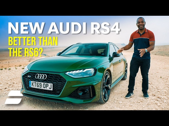 2020 <em>Audi</em> RS4: Better than the RS6?! | 4K