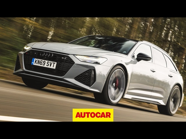 2020 Audi RS6 Avant Review | 3.3sec 0-60mph estate | Autocar