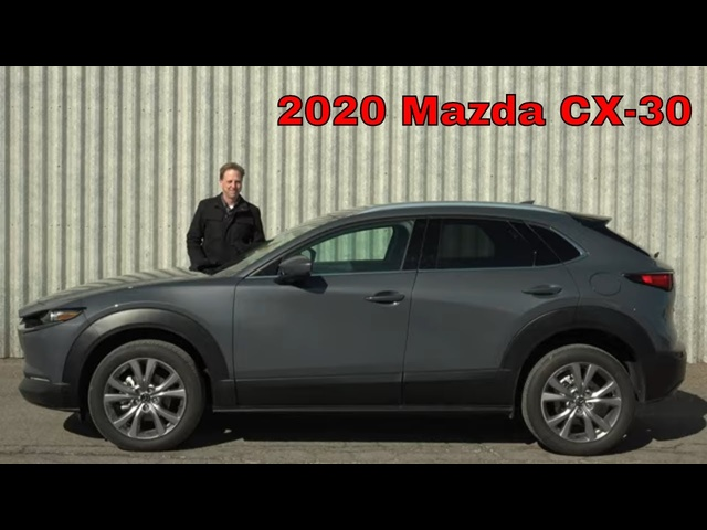2020 Mazda CX-30 | The Tweener Mazda Needs | Steve Hammes