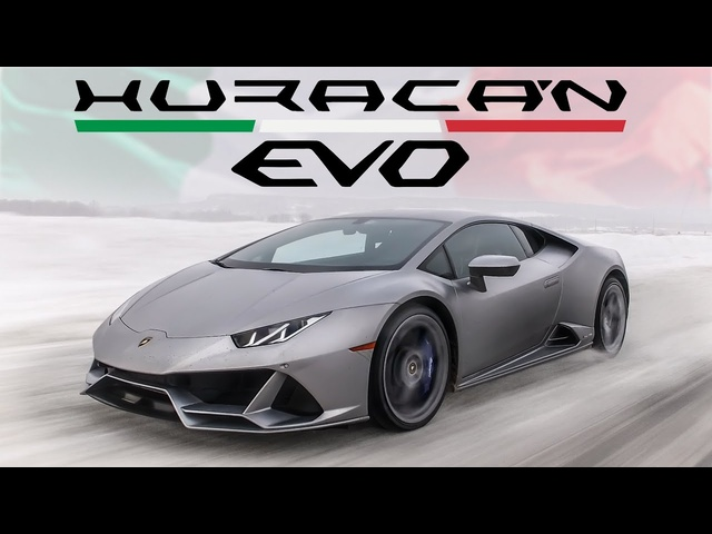 The $400,000 Lamborghini Huracan EVO has the Wildest Launch Control EVER