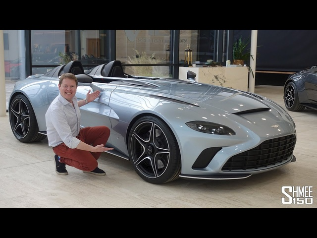 Check Out the New ASTON MARTIN V12 SPEEDSTER! | FIRST LOOK