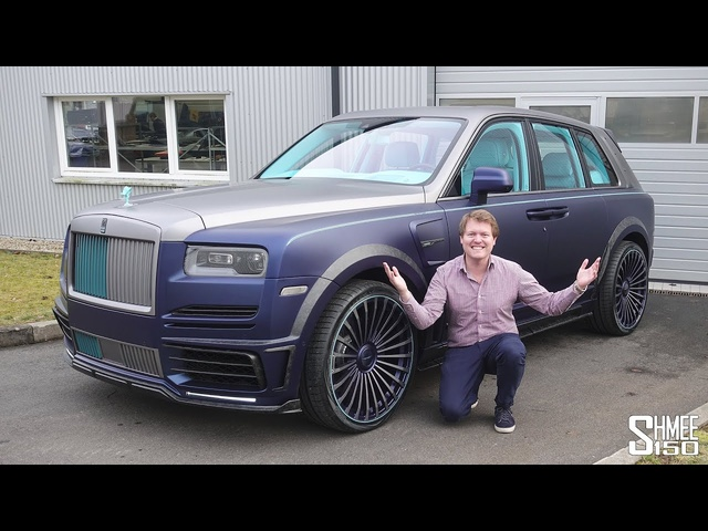 The Mansory Coastline is the MOST LAVISH Rolls-Royce Cullinan! | FIRST LOOK