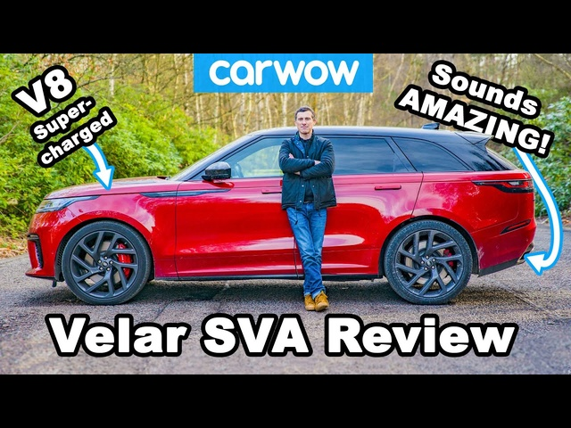 550hp Ranger Rover Velar SVA review - acceleration & drift test!