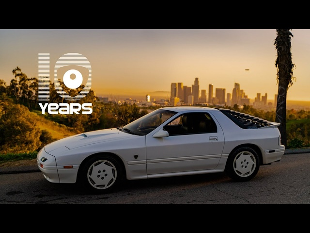 1988 Mazda RX-7 Turbo II 10th Anniversary: The Basement Find