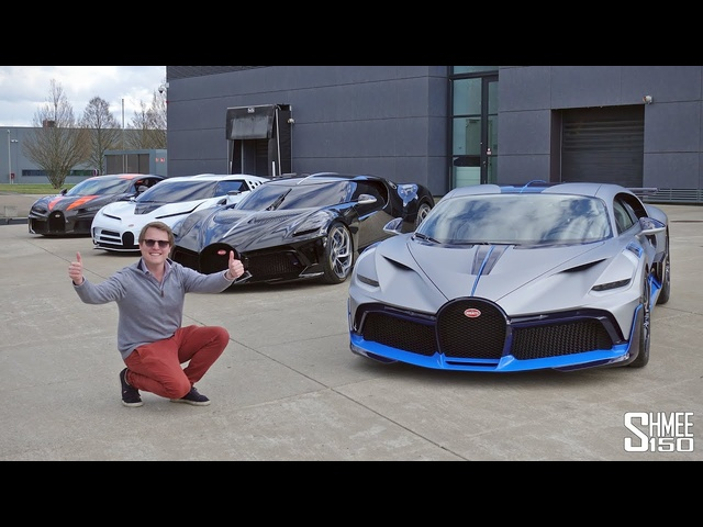 This is the Most Exclusive <em>Bugatti</em> Lineup EVER SEEN!