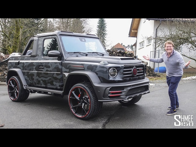 The Mansory G63 Star Trooper Pickup is an Even More INSANE G Wagon!